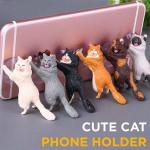 Cute Cat Phone Holder