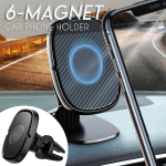 6-Magnet Car Phone Mount