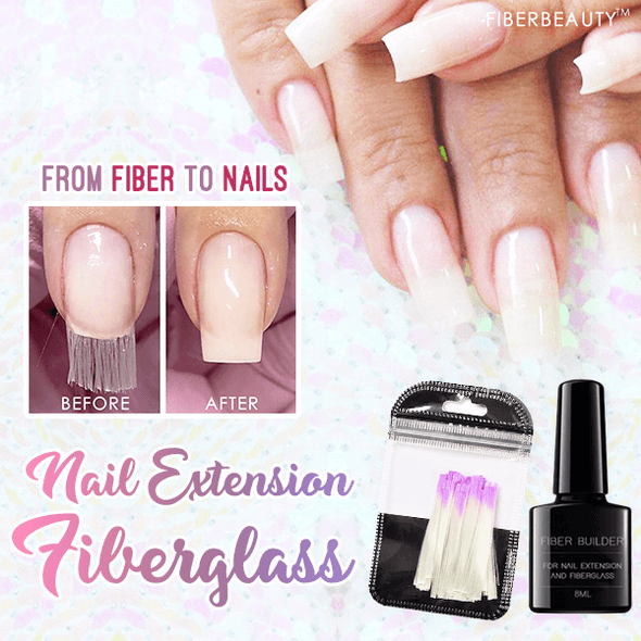 Nail Extension Fiberglass Kit