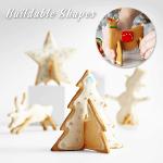 3D Christmas Cookies Mold (Set of 8)