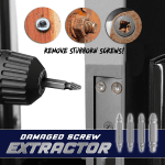 Damaged Screw Extractor (4Pcs)