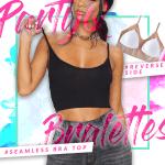 PartyQ Bralettes Seamless Bra Top
