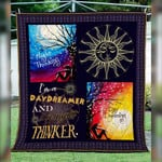 A Daydreamer And A Night Thinker CL22100003MDQ Quilt Blanket