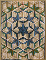 Abstract Flower CLA1510002Q Quilt Blanket