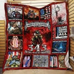 343 Fdny Never Forget CL18100001MDQ Quilt Blanket