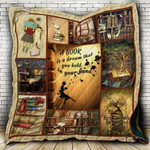 A Book Is A Dream CL22100002MDQ Quilt Blanket