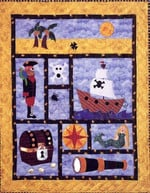 A Pirate S Life CLT240652 Quilt Blanket