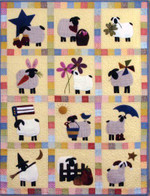 12 Months Of Sheep Holidays CLA1110002Q Quilt Blanket