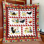 A Chick Here A Chick There PK270501 Quilt Blanket