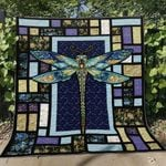 A Dragonfly GS-CL-KC2406 Quilt Blanket