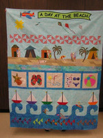 A Day At The Beach CLM240601 Quilt Blanket
