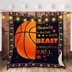 A Beast When I Play Basketball Quilt Blanket Kp Dhc1312540Dd