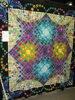 Abstract CLA0810002Q Quilt Blanket