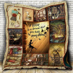 A Book Is A Dream You Hold In Your Hand CLD170721 Quilt Blanket
