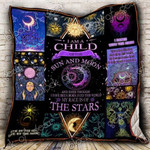 A Child Of Sun And Moon CL2100007MDQ Quilt Blanket