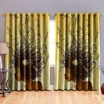 Black Girl Blackout Thermal Grommet Window Curtains BBB250630NB