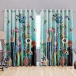 Cactus Blackout Thermal Grommet Window Curtains HHH250635NA