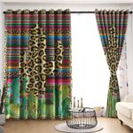 Cactus Blackout Thermal Grommet Window Curtains C9B240601DL