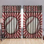 Baseball Blackout Thermal Grommet Window Curtains BBB240311DB