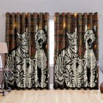 Cat Blackout Thermal Grommet Window Curtains HHH080744NA