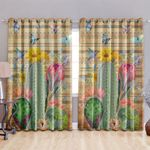 Cactus Blackout Thermal Grommet Window Curtains HHH250634NA