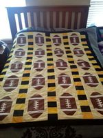 American Football CLA1010047Q Quilt Blanket #83908