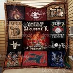 Always Be A Drummer Quilt Th679B Dhc11123489Dd