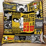 All You Need Is Love And A Cow Quilt T38 Dhc11121759Dd