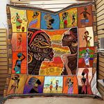 African Culture CL18100007MDQ Quilt Blanket #71006
