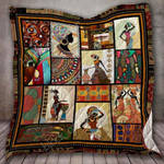 African CLD190701 Quilt Blanket