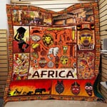 Africa Forever In My Heart CL22100010MDQ Quilt Blanket #12867