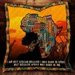 Africa Was Born In Me CL22100013MDQ Quilt Blanket #53810