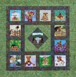 Airedale CLA290602 Quilt Blanket