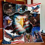 American Bald Eagle GS-CL-LD2506 Quilt Blanket
