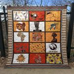 African Culture CLD170671 Quilt Blanket