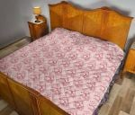 Anatomic heart fabric quilt DHC281111652DD