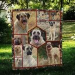 Anatolian Shepherd Strong CL09100021MDQ Quilt Blanket