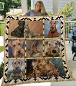Airedale Terrier Quilt Blanket DHC13121840VT