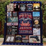 Air Force Veteran Quilt Th147 Dhc11123131Dd