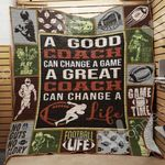 American Football Quilt Blanket DHC1002522TD