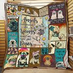 All You Need Is Pug Quilt Psl740 Dhc11122858Dd