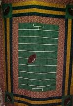 American Football CLA1010046Q Quilt Blanket