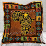 African CLD190704 Quilt Blanket