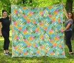 Aloha Summer Pineapple CL17100028MDQ Quilt Blanket
