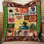American Football Game Time Quilt Blanket Dhc04011829Dd