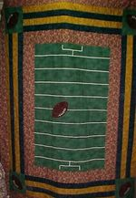 American Football CLA1010046Q Quilt Blanket #62690