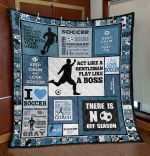 Act Like A Gentleman Soccer TN290502 Quilt Blanket