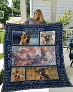 American Staffordshire Terrier Quilt Blanket DHC2911233VT