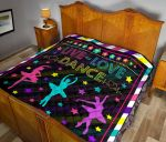 Abstract Monochrome Quilt Blanket DHC311262TD