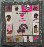All I Need Is Dachshund Quilt Blanket Dhc09121714Dd